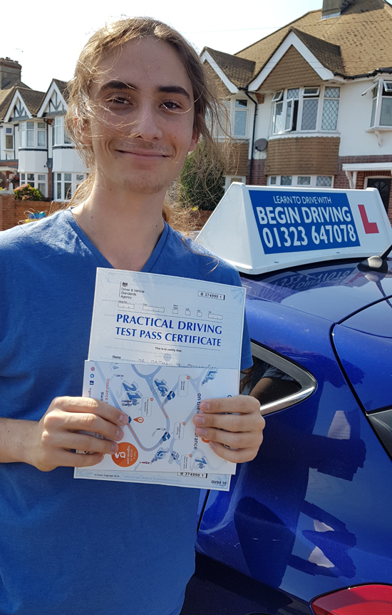 Driving test recent passes | Begin Driving